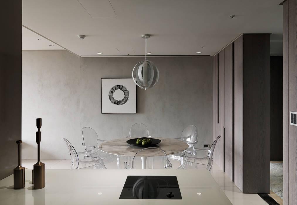Ruang Makan oleh 形構設計 Morpho-Design, Modern
