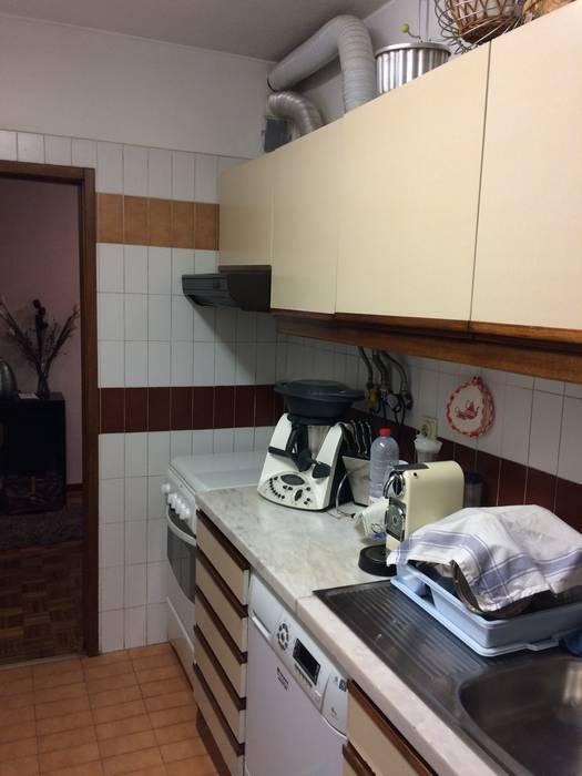 Cocinas de estilo  por CSR - Construção e Reabilitação em Lisboa, Moderno
