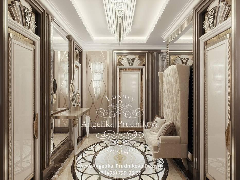 Corridor & hallway by Дизайн-студия элитных интерьеров Анжелики Прудниковой, Classic