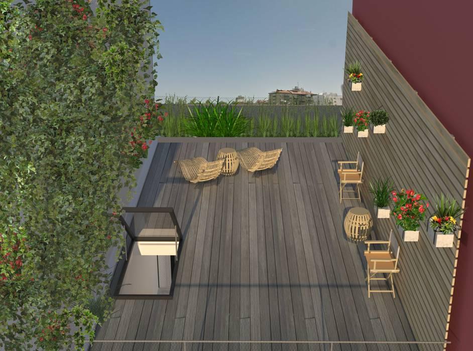 Terrazas de estilo  por Nuno Ladeiro, Arquitetura e Design, Moderno