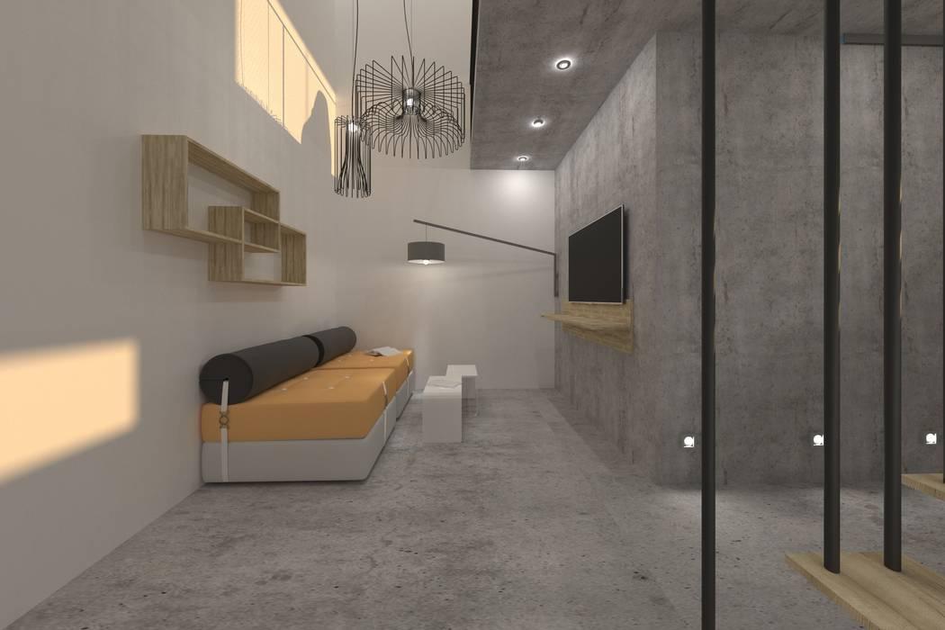 Garasi Minimalis Oleh Nuno Ladeiro, Arquitetura e Design Minimalis