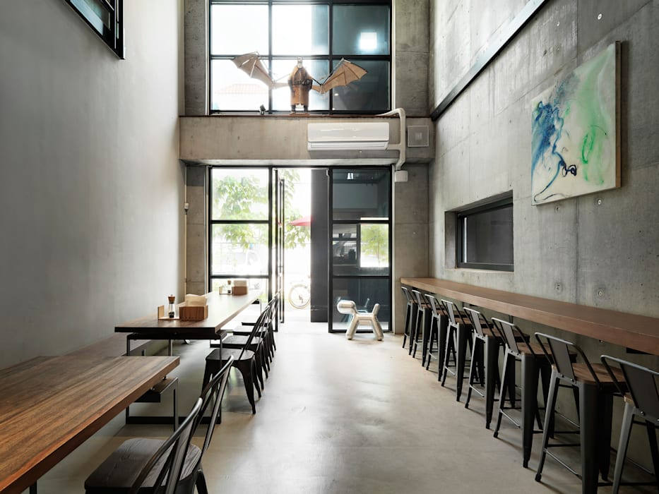 Industrial style dining room by 木耳生活藝術 Industrial