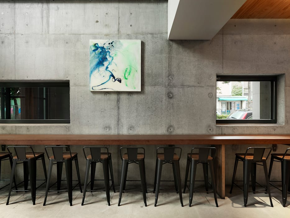 Dining room by 木耳生活藝術, Industrial