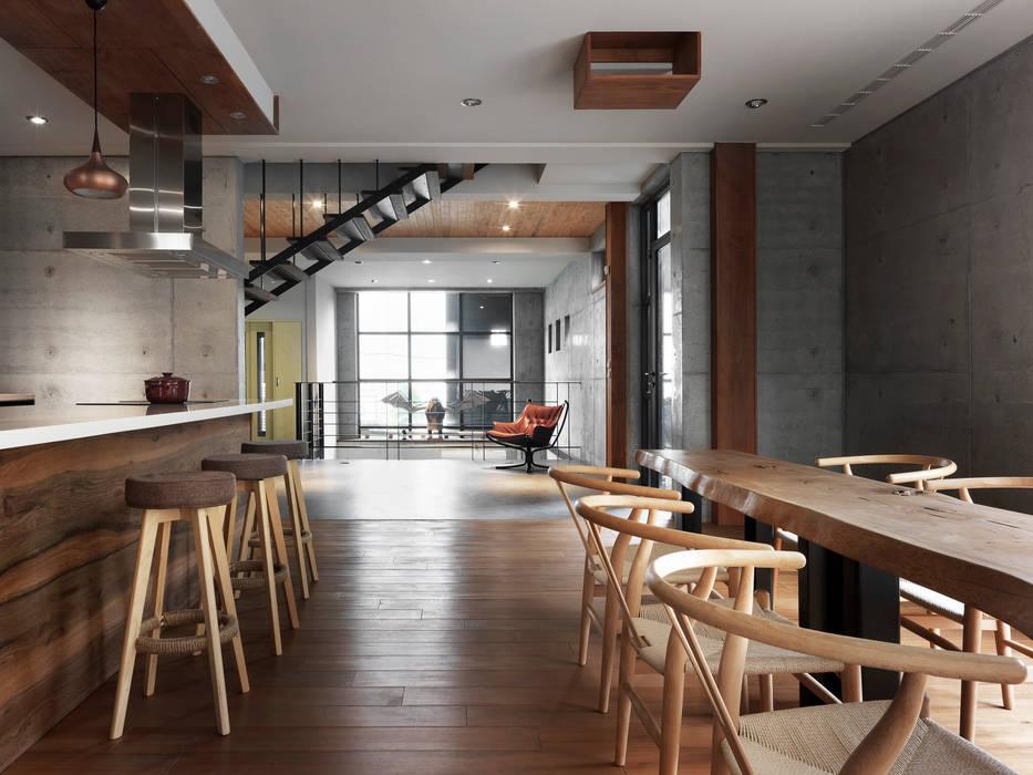 Dining room by 木耳生活藝術, Minimalist
