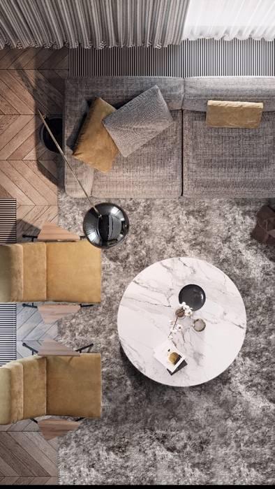 شقة سكنية :  أرضيات تنفيذ smarthome,