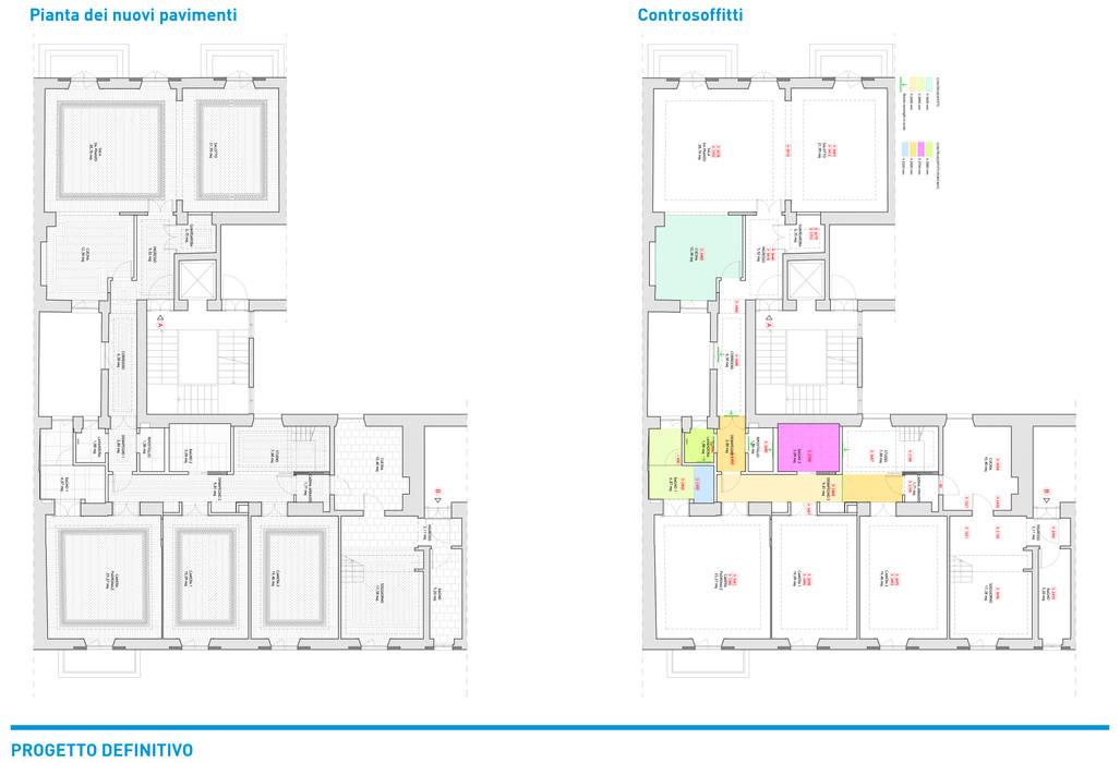Presentazione iter progettuale Chantal Forzatti architetto Ingresso, Corridoio & Scale in stile classico Ardesia Bianco