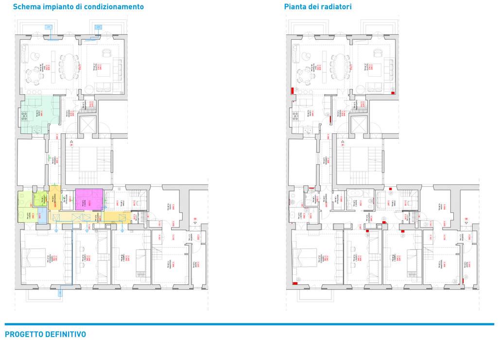 Presentazione iter progettuale Chantal Forzatti architetto Balcone Ferro / Acciaio Effetto legno