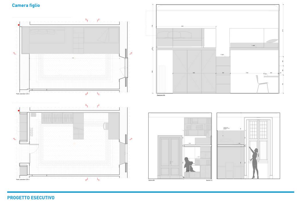 Piscinas infinitas de estilo  por Chantal Forzatti architetto, Industrial Goma