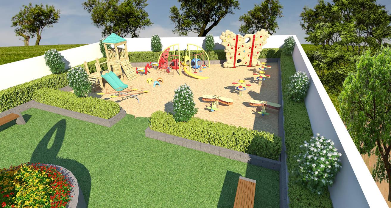 Children play area by Future Design Studio Modern