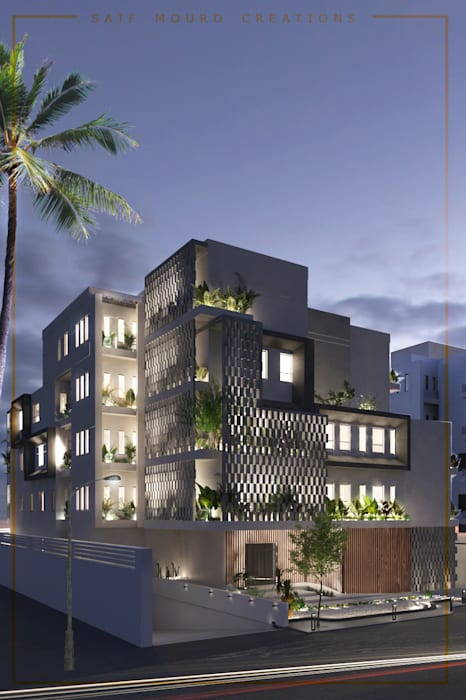 Architecture design   Mecca Residence by Saif Mourad Creations Modern