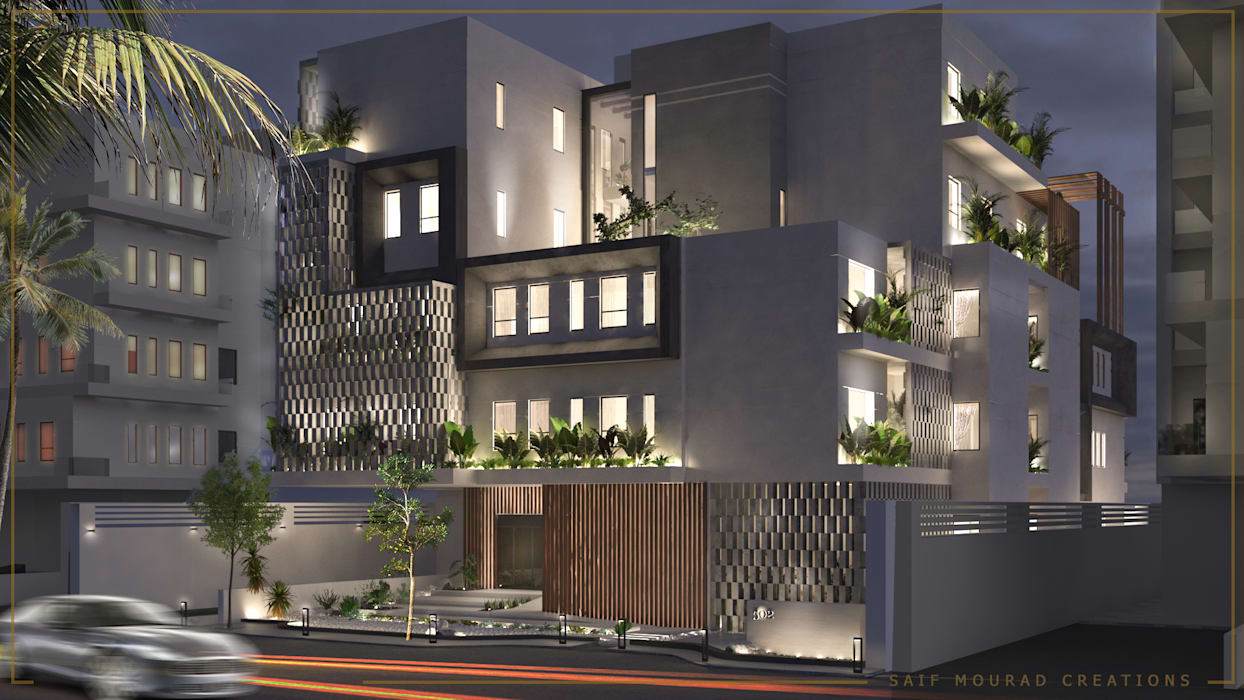 Architecture design | Mecca Residence Modern Houses by Saif Mourad Creations Modern