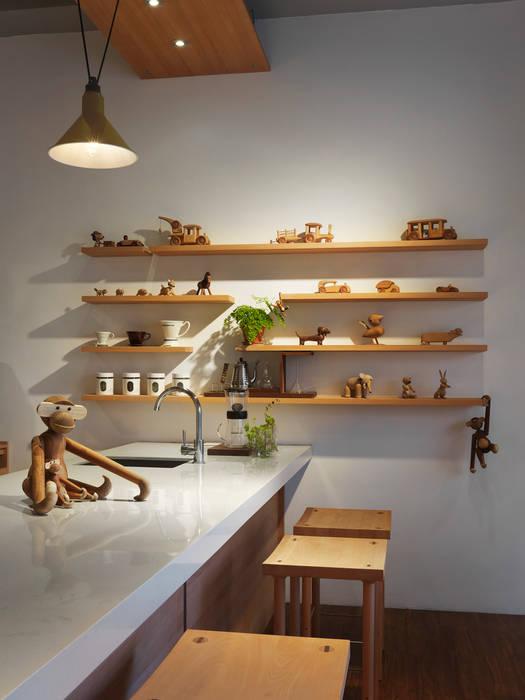木耳生活藝術-商業空間/新竹・FAMILY PIZZA光復店 木耳生活藝術 家居用品儲藏櫃 實木