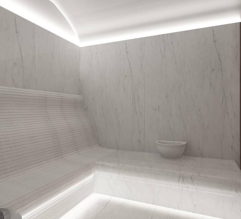 Baños turcos de estilo  de SK Interiors studio, Minimalista