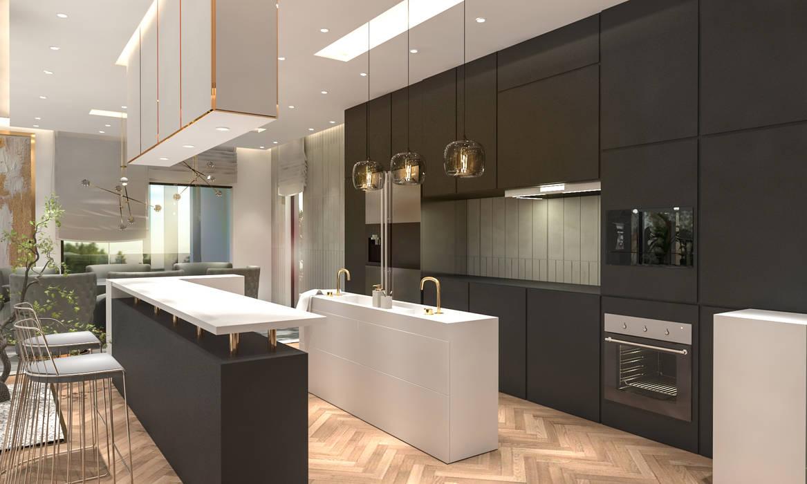 Kitchen Saif Mourad Creations Modern Kitchen