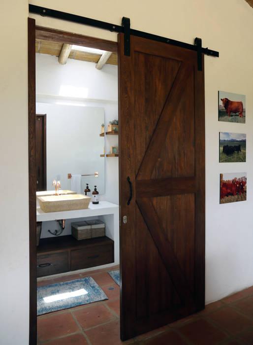 Rustykalna łazienka od Gamma Rustykalny