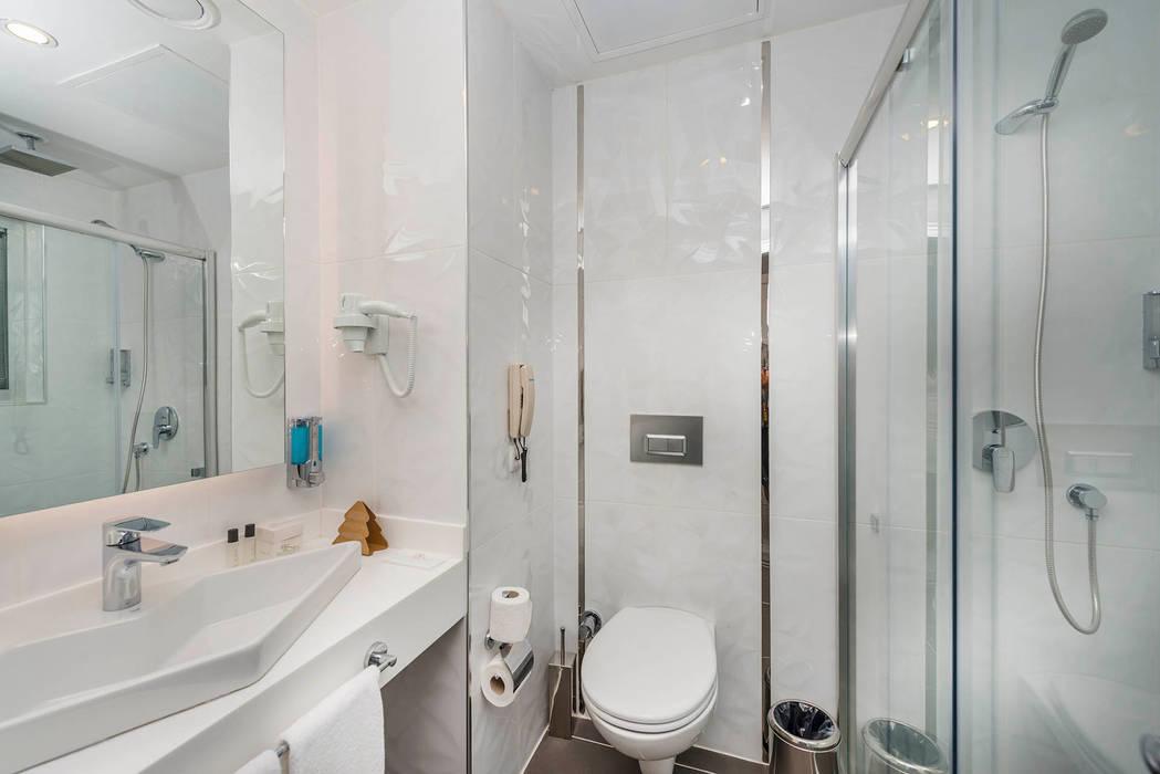KALYA İÇ MİMARLIK – Otel Odası - Banyo:  tarz Oteller,