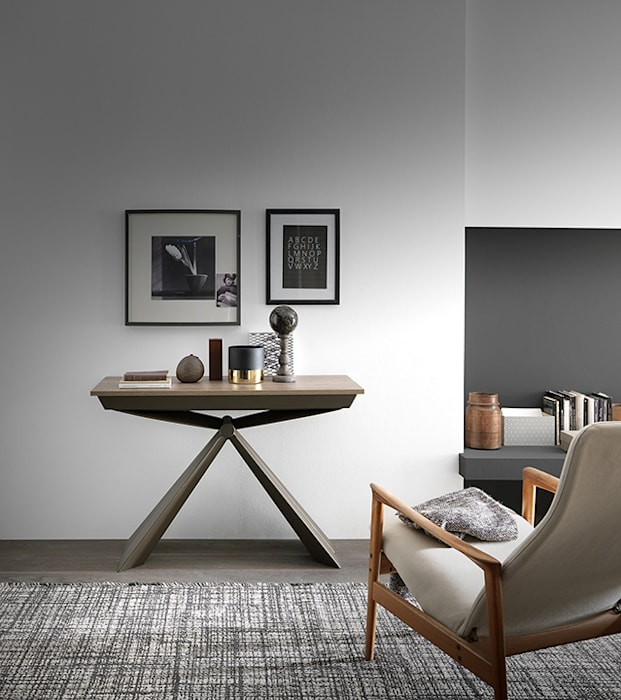 Living room by Mobili a Colori , Modern Engineered Wood Transparent