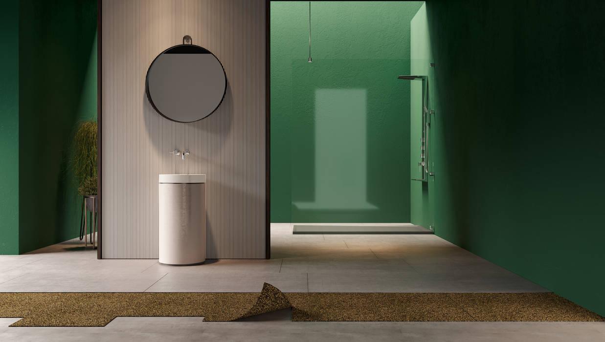 Casa de banho por Go4cork Moderno Cortiça