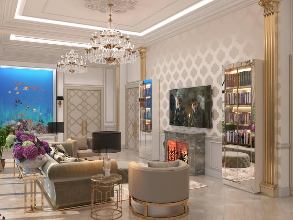 Ruang Keluarga oleh Franklin studio, Klasik