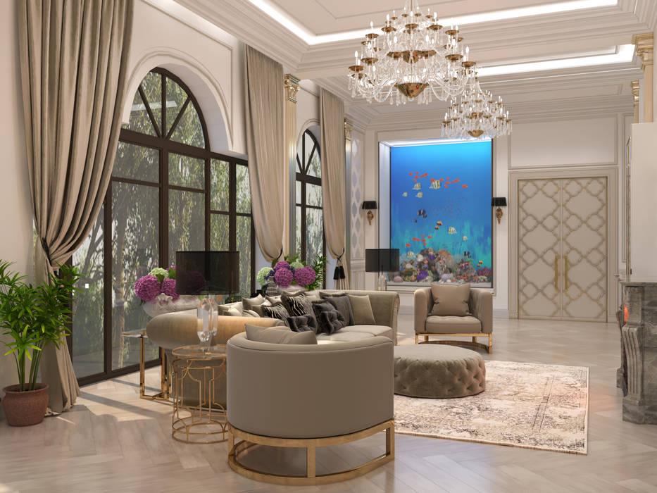 Livings de estilo  por Franklin studio, Clásico