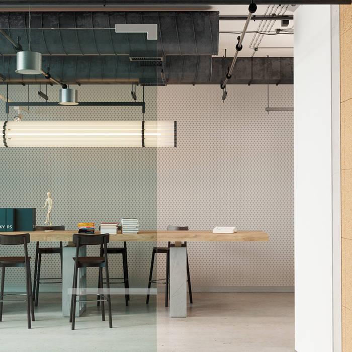 Office building materials Go4cork 现代客厅設計點子、靈感 & 圖片 軟木塞