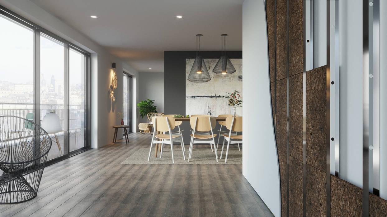 Construction Materials Ruang Makan Modern Oleh Go4cork Modern Sumbat