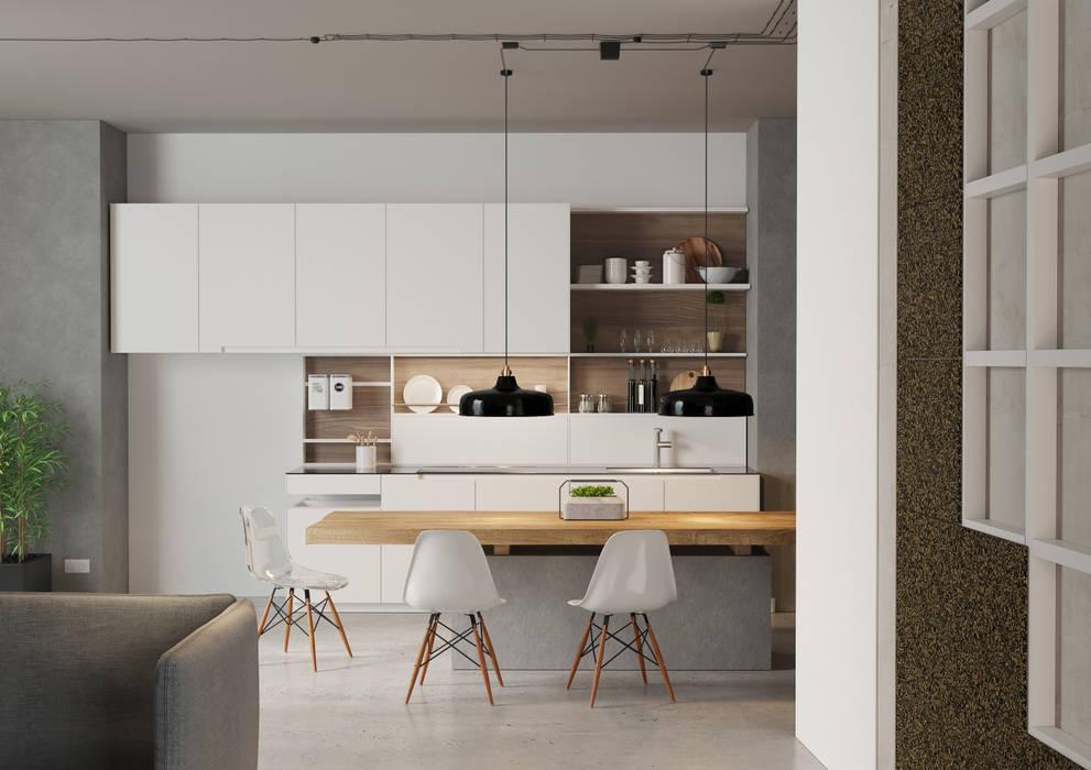 Kitchen building materials by Go4cork Modern Cork