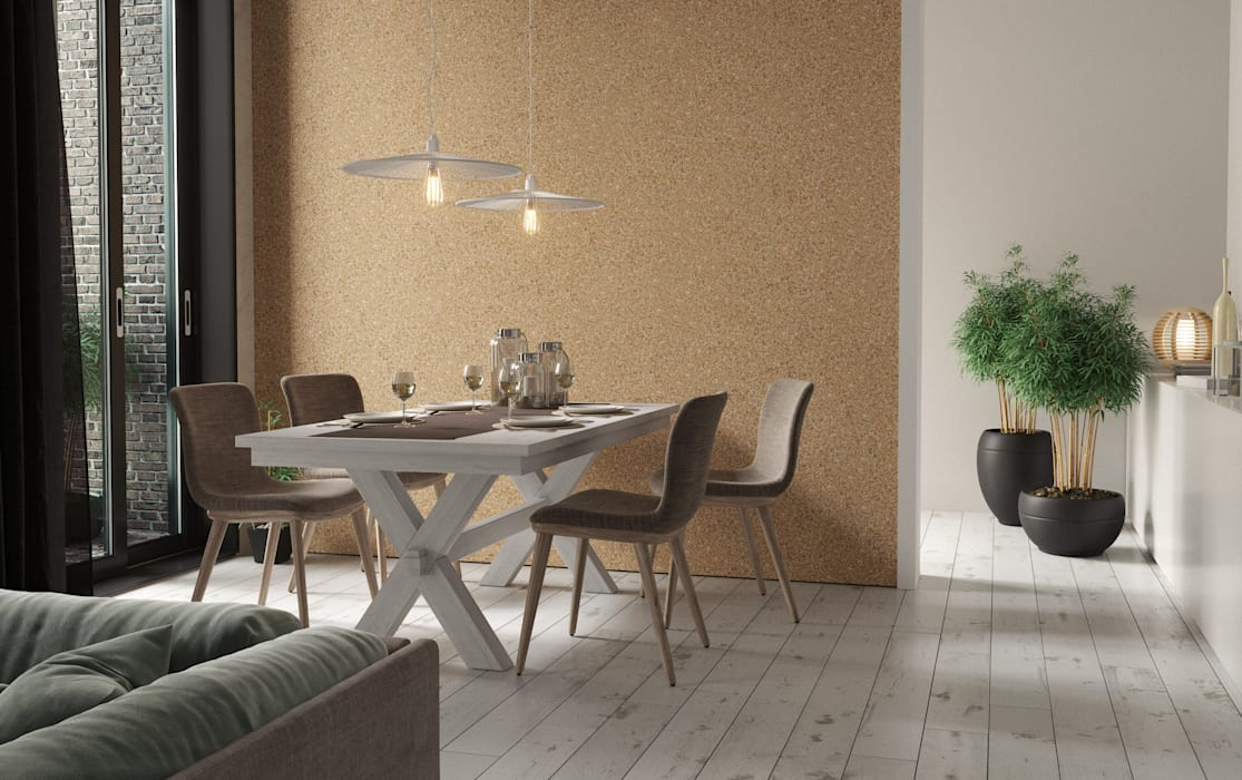 Dining room Modern dining room by Go4cork Modern Cork