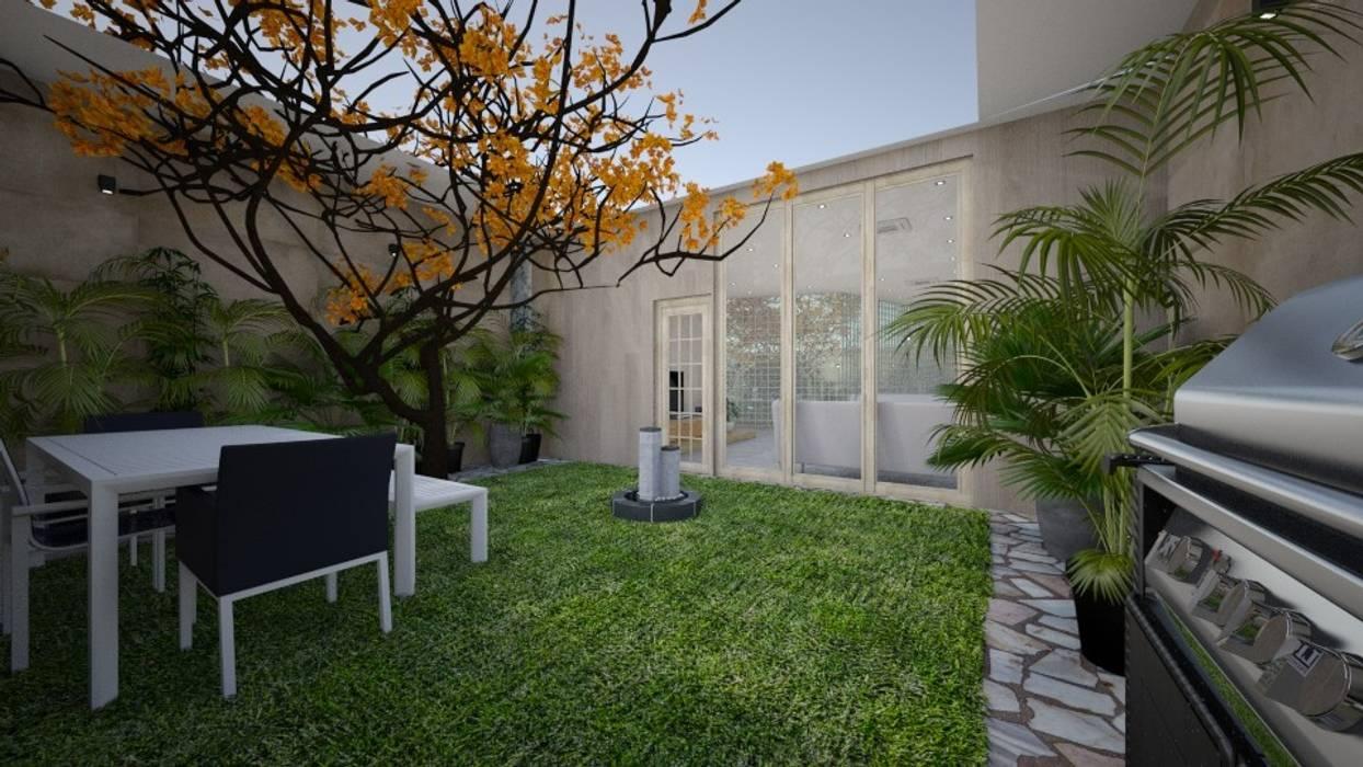 الحديقة الخلفية الصغيرة من عبدالسلام أحمد سعيد حداثي