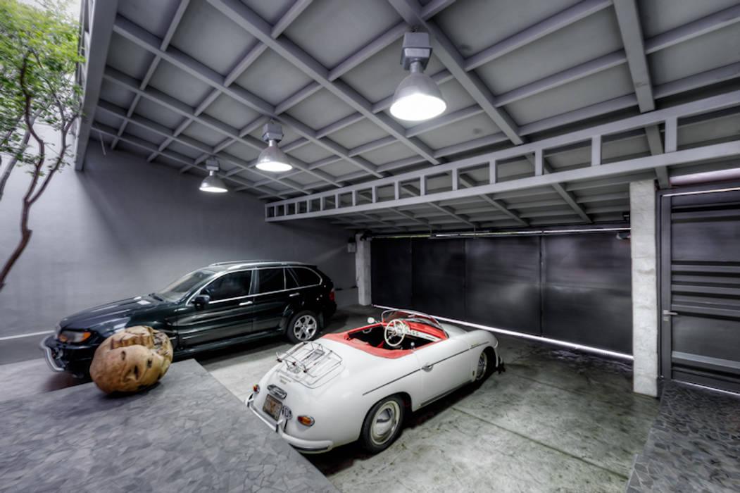 Garasi prefabrikasi oleh Con Contenedores S.A. de C.V., Industrial