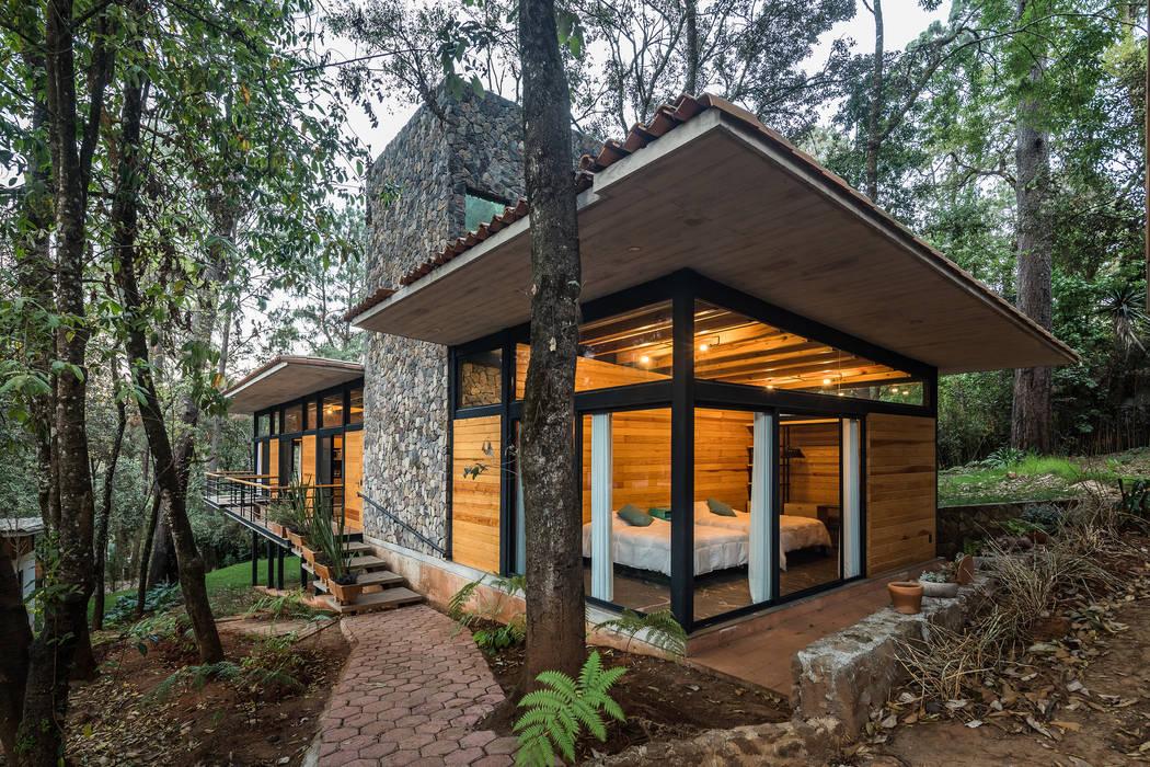 Saavedra Arquitectos Rumah Modern Beton Grey