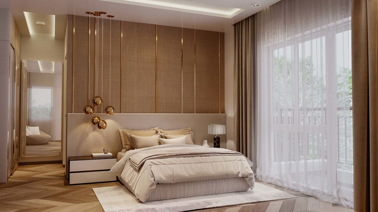 Modern style bedroom by De Panache - Interior Architects Modern