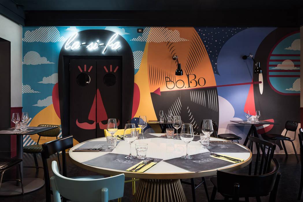 Dining room by Grippo + Murzi Architetti, Modern