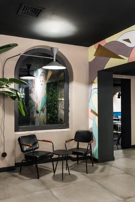 Corridor & hallway by Grippo + Murzi Architetti, Modern
