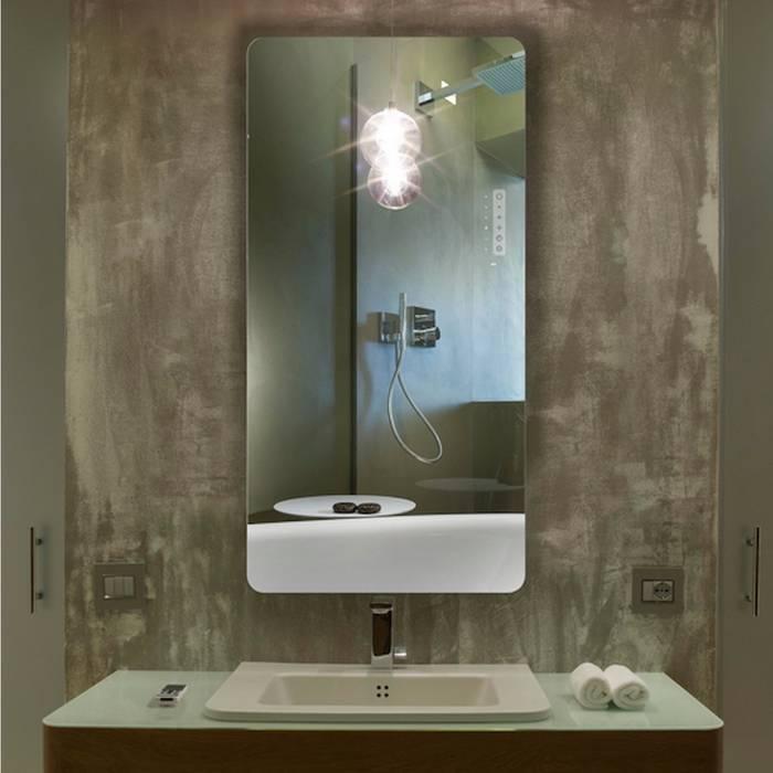 Infrarot Spiegelheizung Reflex von K8 Radiatori Moderne Badezimmer von RF Design GmbH Modern