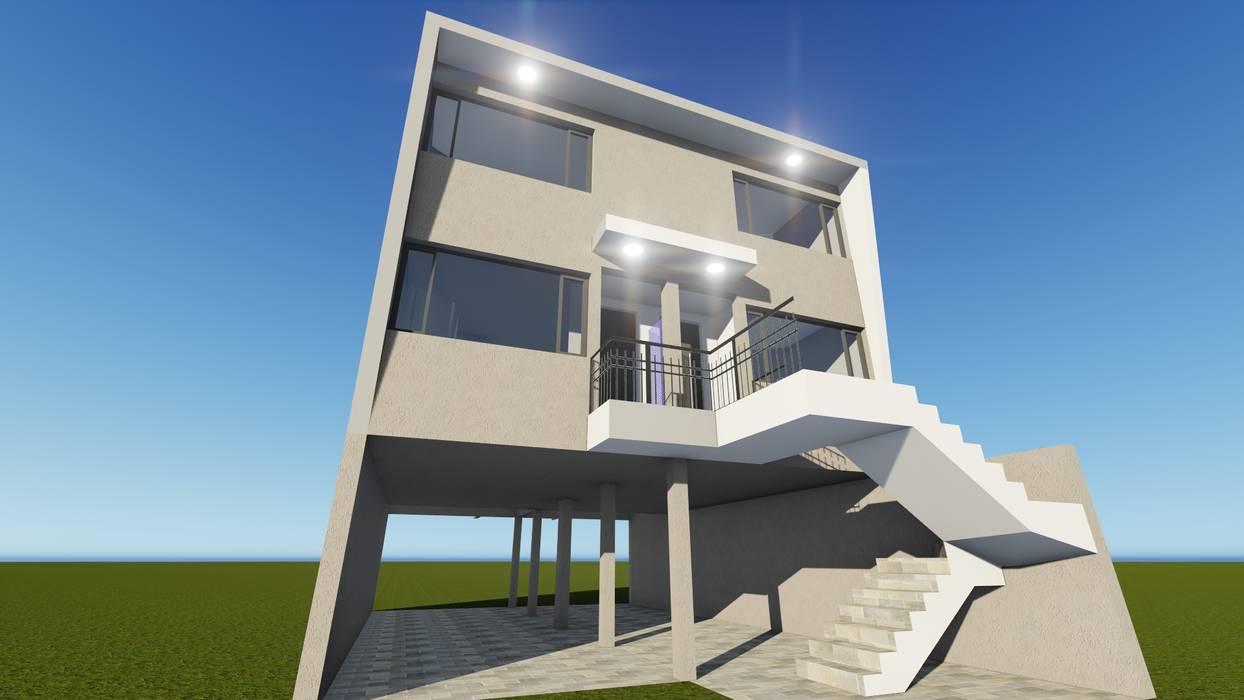 Condominios de estilo  por ebconstrucciones, Moderno