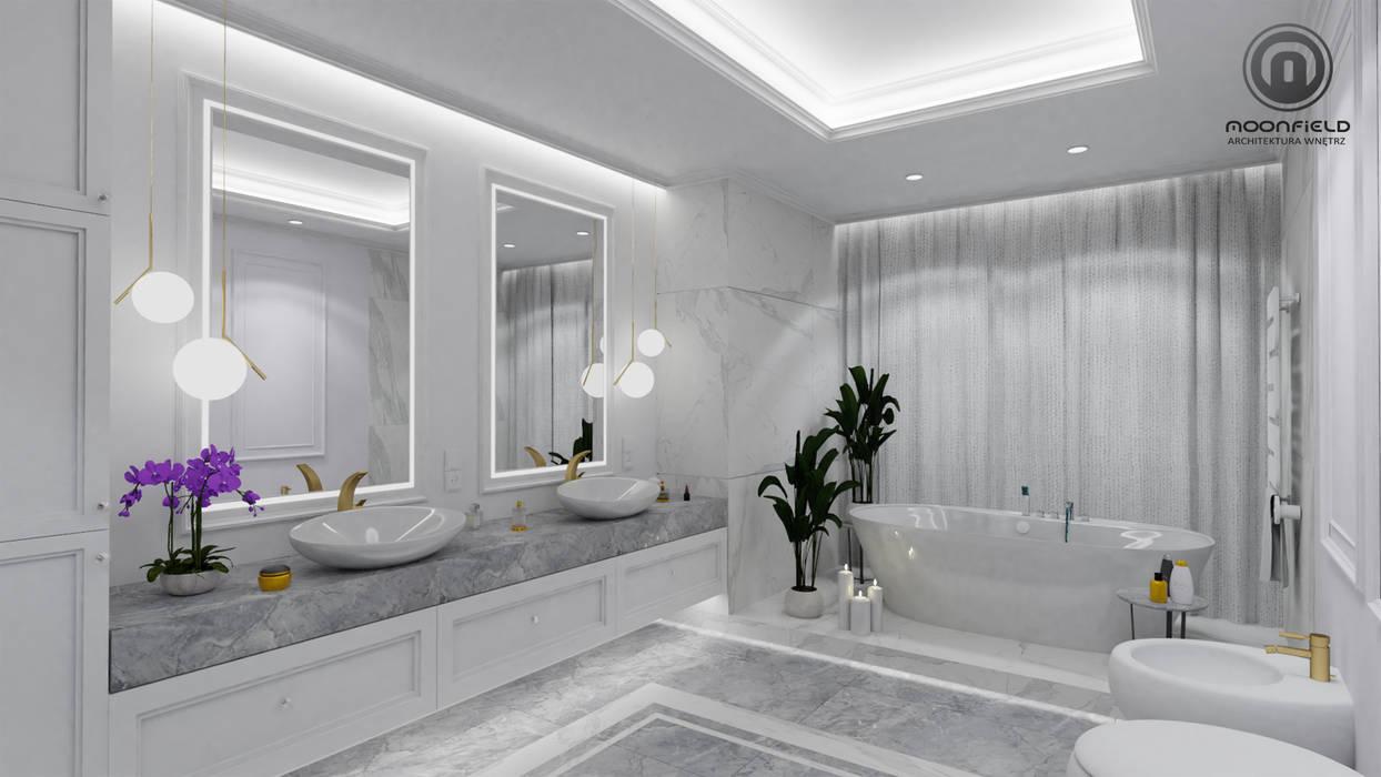 Belezza Klasyczna łazienka od MOONFIELD STUDIO Klasyczny