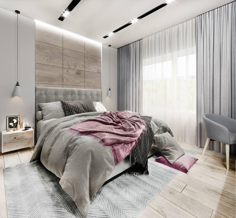 Спальня Уральск DesignNika Спальня в скандинавском стиле