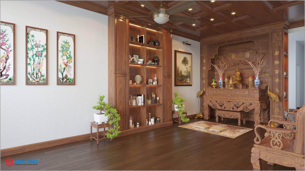 Công ty TNHH TK XD Song Phát Interior landscaping Wood Grey