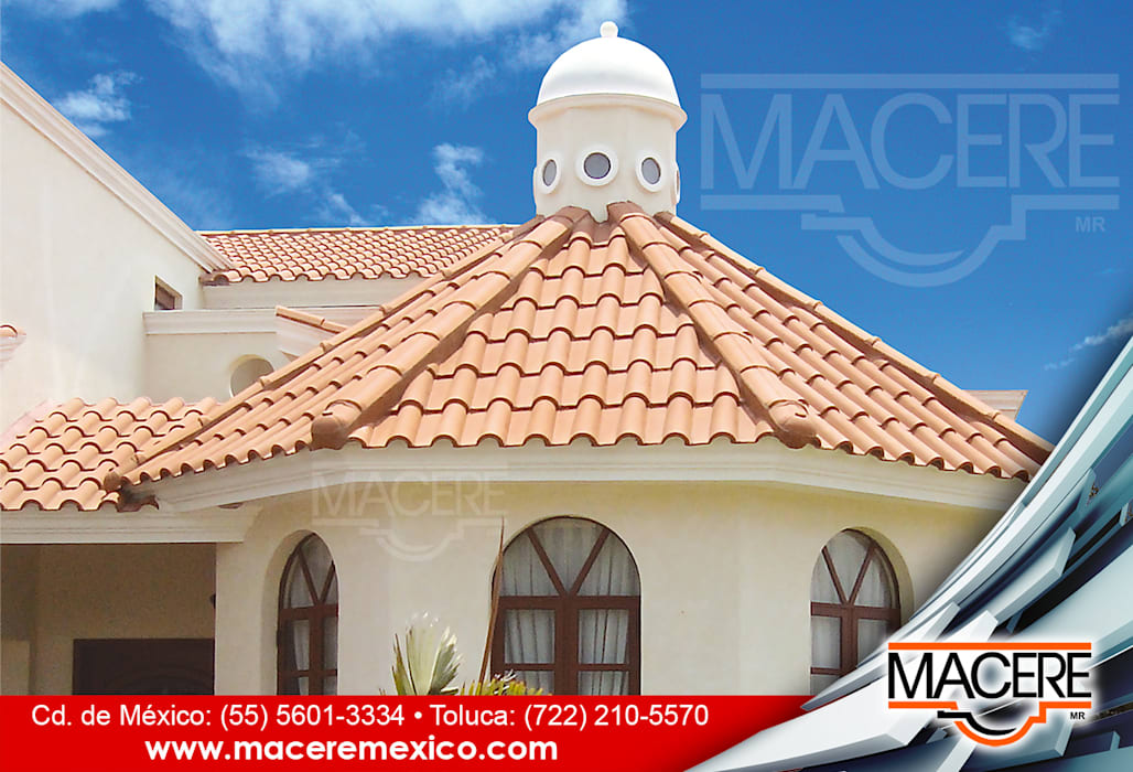 by MACERE México Colonial Ceramic