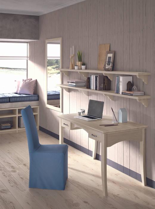 غرفة نوم مراهقين  تنفيذ Mobili a Colori , بلدي خشب متين Multicolored