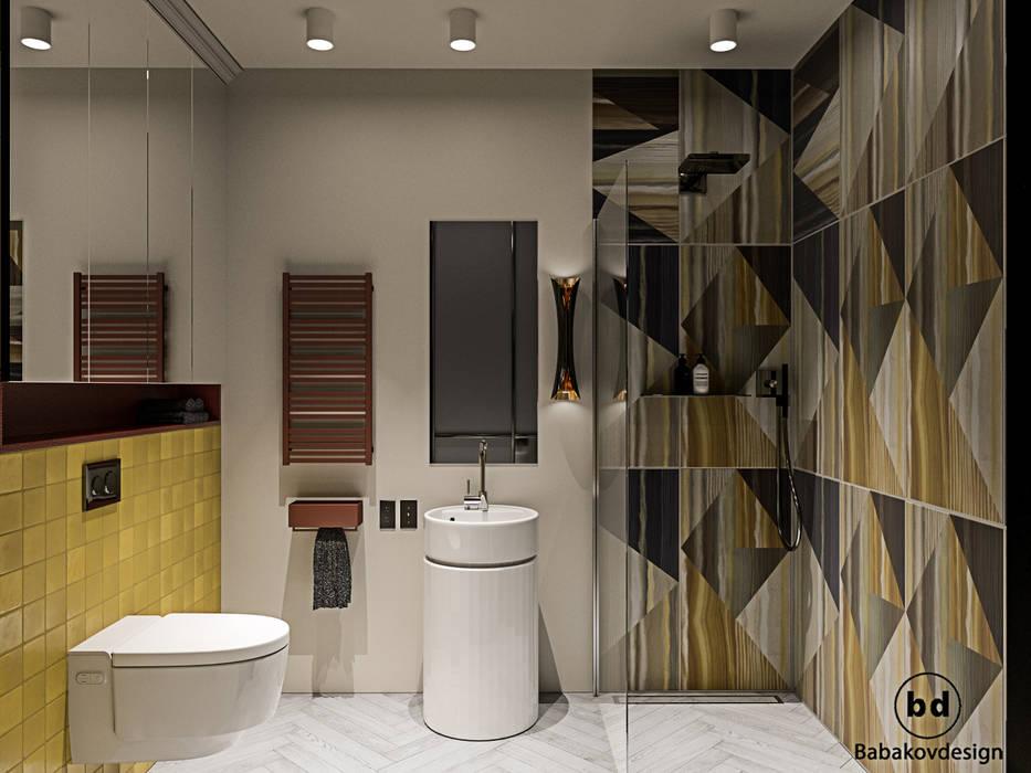 Bathroom by Babakovdesign, Scandinavian