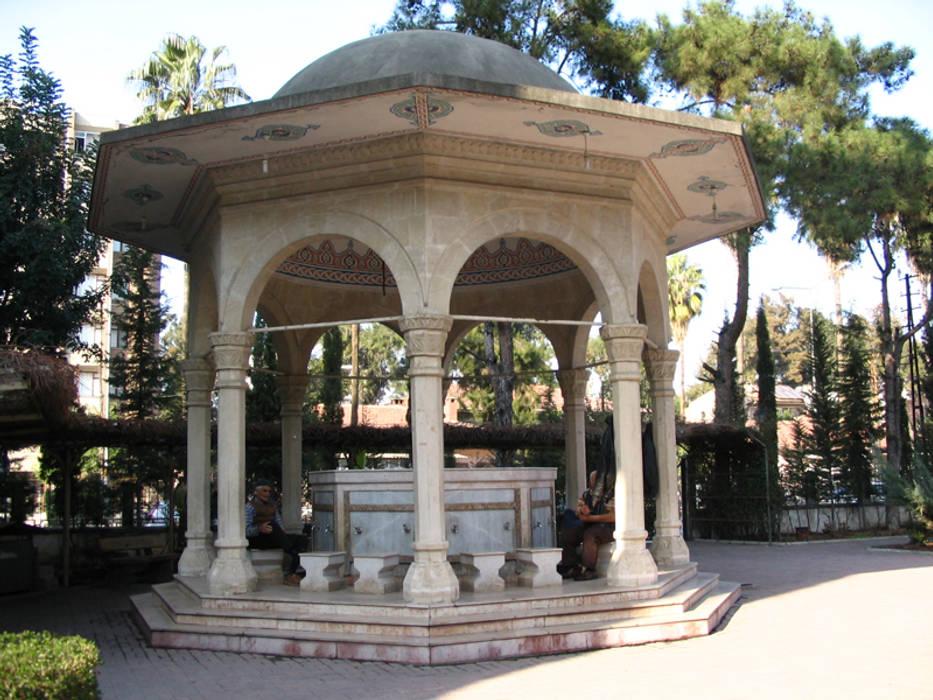 Taşcenter Acarlıoğlu Doğal Taş Dekorasyon – Doğal taş şadırvan: modern tarz , Modern Mermer