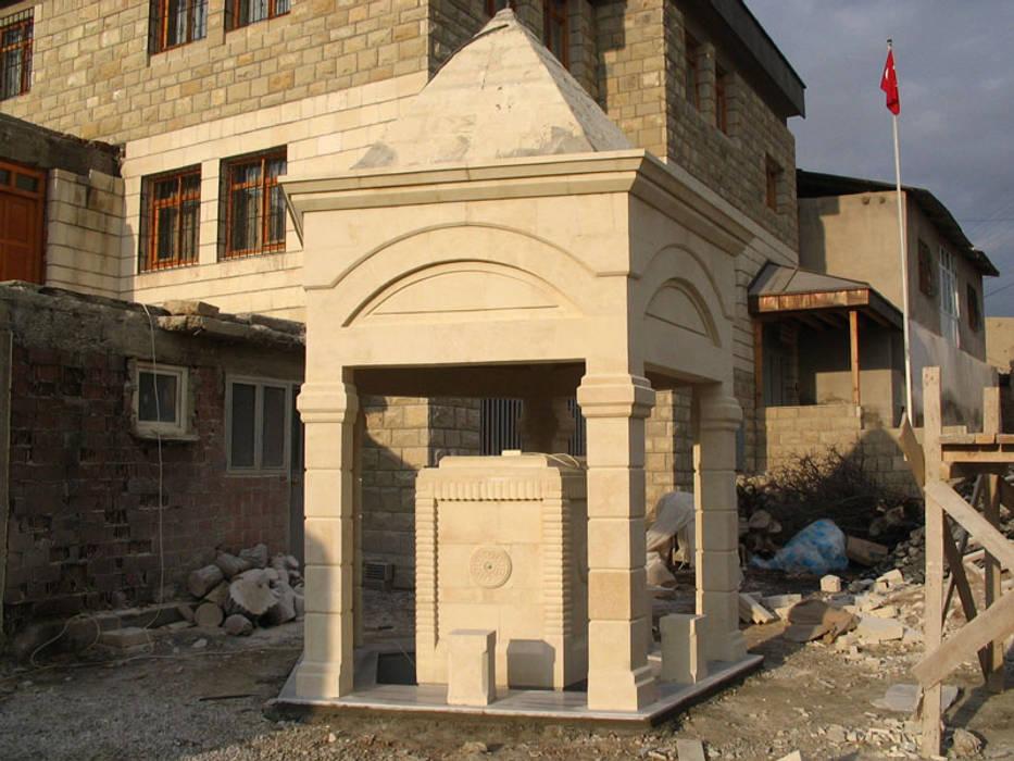 Taşcenter Acarlıoğlu Doğal Taş Dekorasyon – Taş şadırvan: modern tarz , Modern Taş