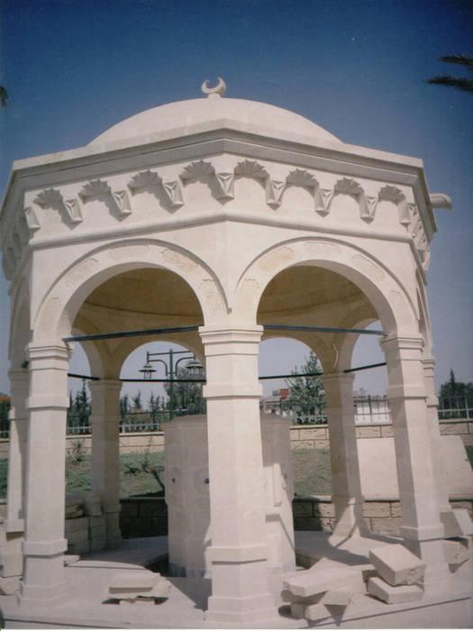 Şadırvan Taşcenter Acarlıoğlu Doğal Taş Dekorasyon SanatSanat Eserleri Granit Beyaz