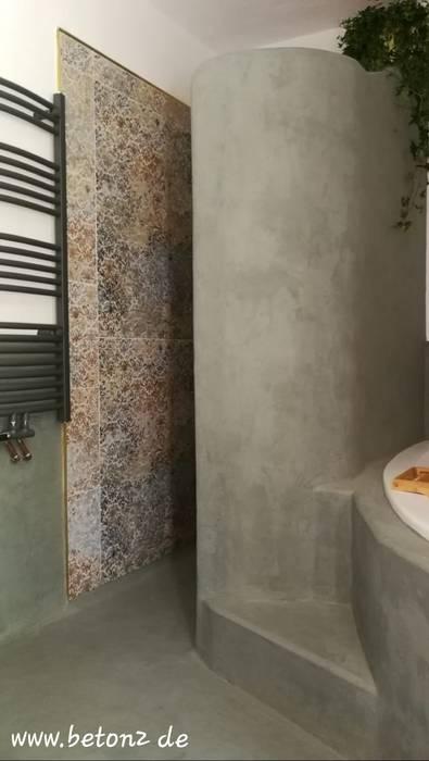 Mediteranes bad mit beton cire mercadier_beton² lieferant ...