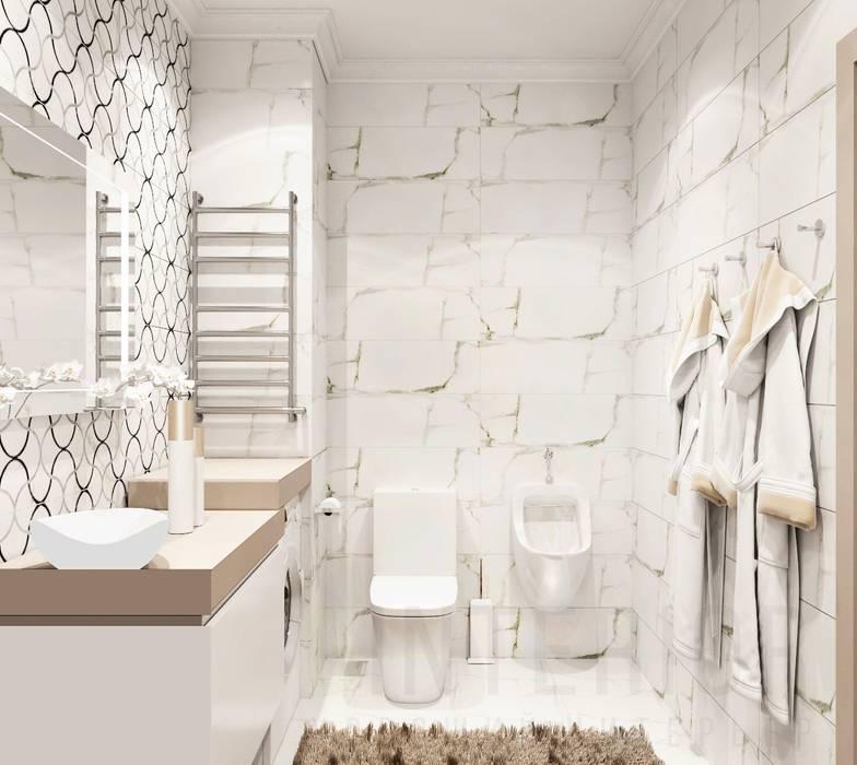 Classic style bathroom by Дизайн студия 'Хороший интерьер' Classic