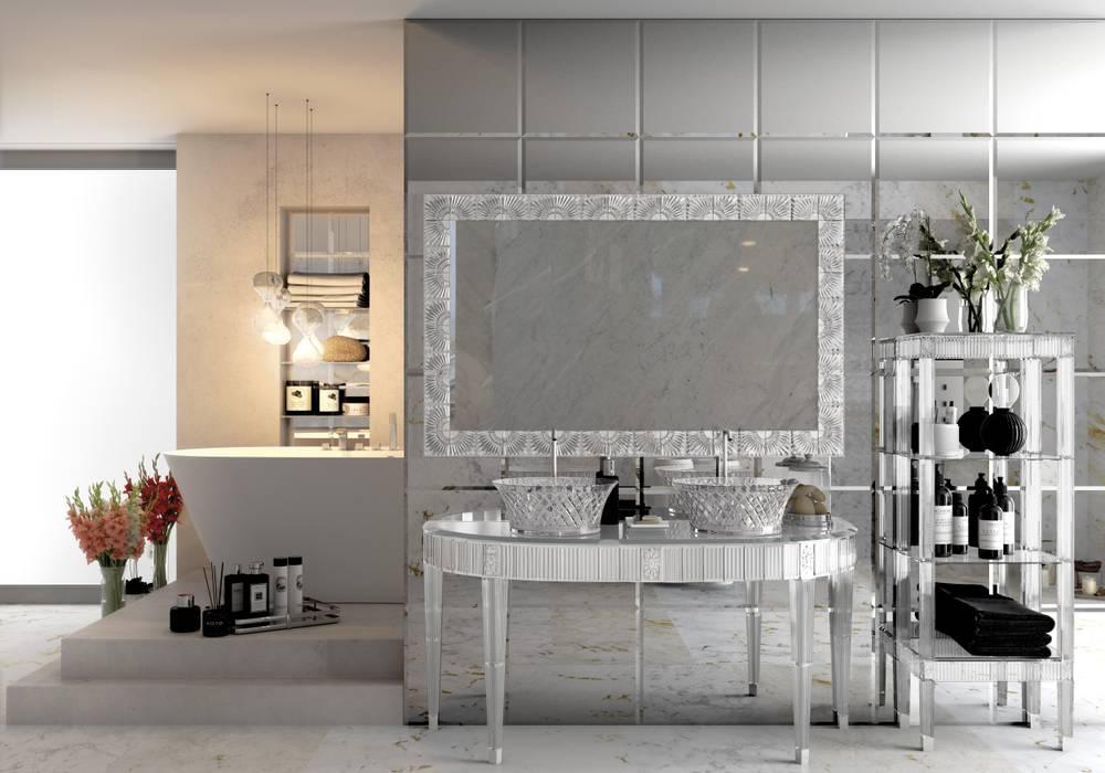 浴室 by BIANCHINI & CAPPONI - B&C Srl, 隨意取材風