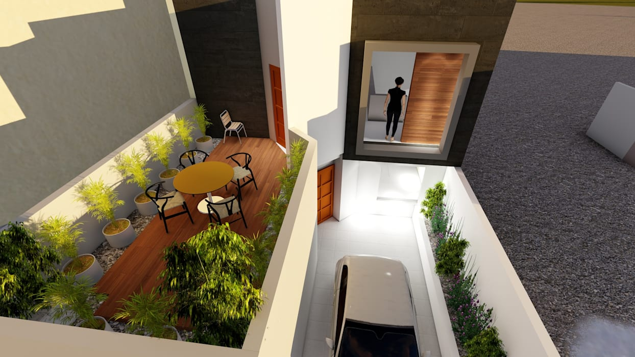 Small houses by CADI, Modern Concrete