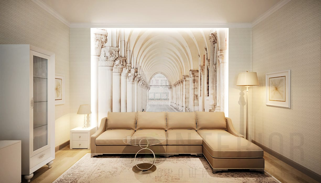 Living room by Дизайн студия 'Хороший интерьер', Classic